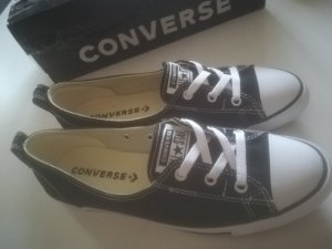 Converse Slippers white-black