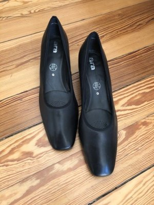 ara Loafers black leather