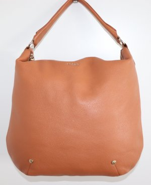 Furla Hobos light brown leather