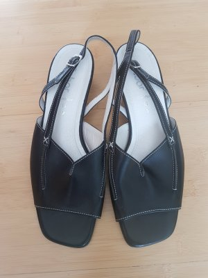 Gabor Strapped Sandals black leather