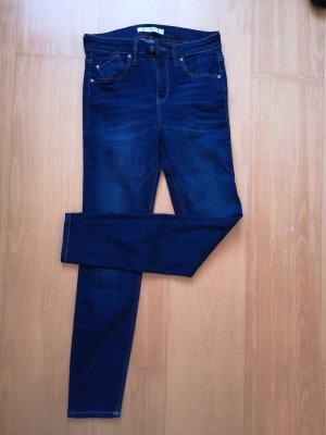 Pull & Bear Slim jeans blauw