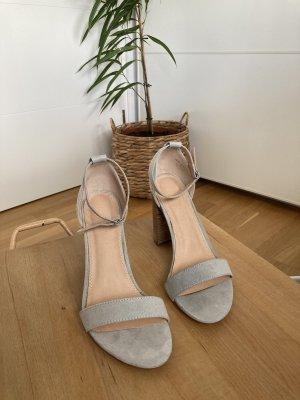 ASOS DESIGN Sandaletto con tacco alto multicolore
