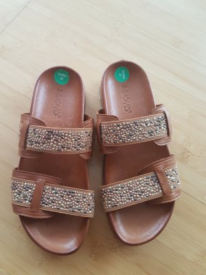 Inuovo Dianette Sandals brown leather