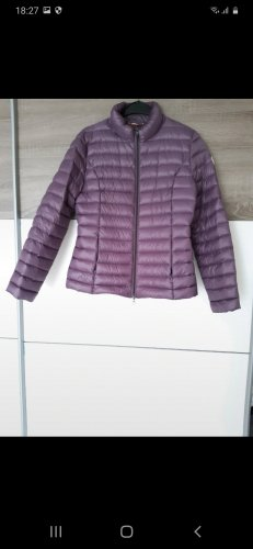 Quilted Jacket purple