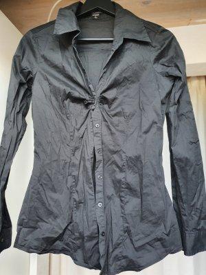 Ungetragene taillierte Bluse mit Raffung an der Brust, Gr. S, Amisu
