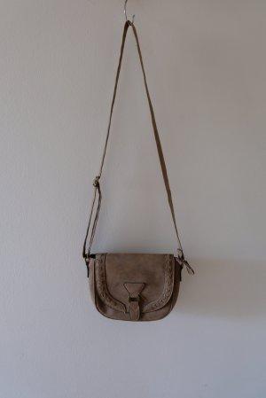 Deichmann Crossbody bag grey brown
