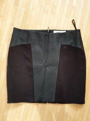 Vero Moda in Blue Rok van imitatieleder zwart