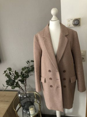Zara Abrigo corto rosa