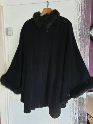 Walbusch Wollen jas zwart Wol