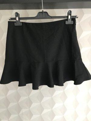 Forever 21 Flounce Skirt black polyester