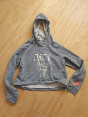 Nike Hooded Sweater silver-colored-light grey