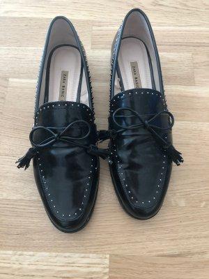 Zara Pantofola nero-argento