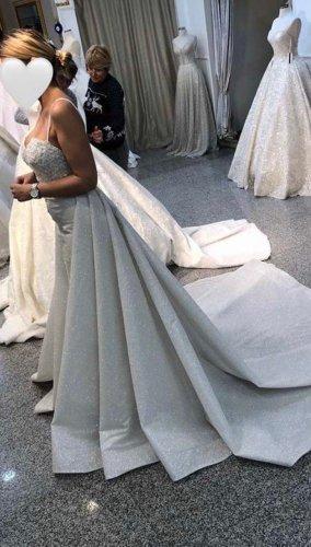 UNGETRAGENES 2 in 1 Hochzeitskleid maßgeschneidert like BERTA