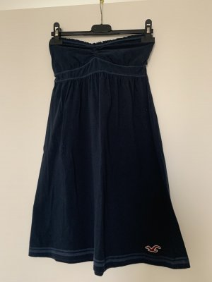 Hollister Bustier Top dark blue