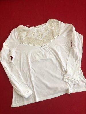 H&M L.O.G.G. Koszulka z długim rękawem biały-w kolorze białej wełny