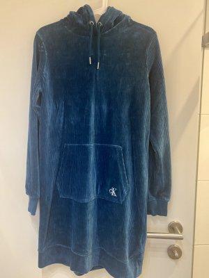 Calvin Klein Robe à capuche bleu cadet