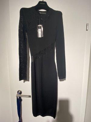 Ungetragenes Versace Strickkleid schwarz, Größe IT36