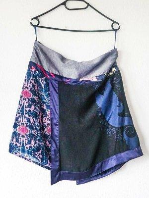 St-martins Asymmetry Skirt multicolored