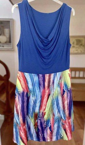 Alba Moda Robe d'été multicolore viscose