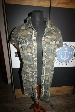 UNIKAT Buffalo Gr 40 Mantel Kleid Camouflage Luxus Ibiza Hippie