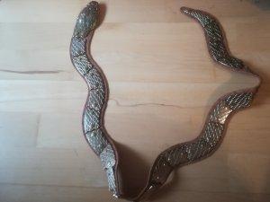 Boucle de ceinture bronze-doré
