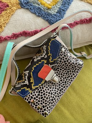 Borse in Pelle Italy Crossbody bag multicolored