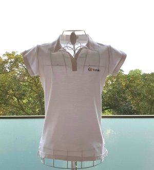 Camiseta tipo polo blanco Algodón