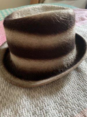 fiona bennett Felt Hat grey brown