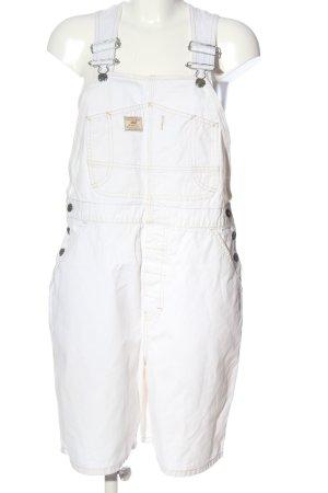 Unionbay Ogrodniczki biały W stylu casual