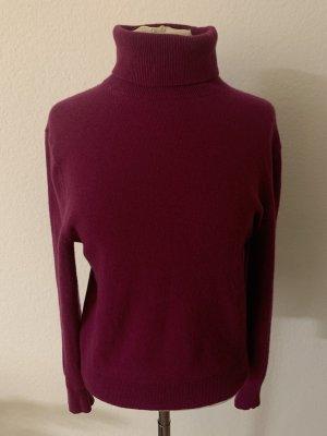 Uniqlo Cashmere Jumper purple-magenta