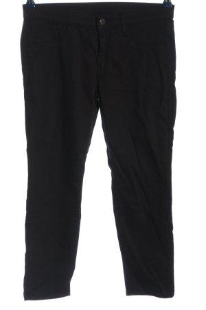 Uniqlo Pantalon 7/8 noir style décontracté