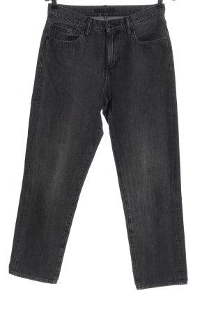 Uniqlo Jeans a 7/8 grigio chiaro stile casual