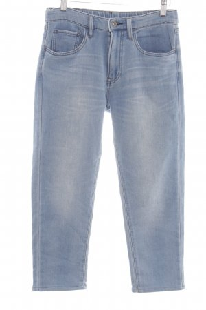 Uniqlo 7/8 Jeans blau Casual-Look