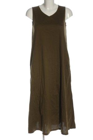 Uniqlo A-Linien Kleid khaki Casual-Look