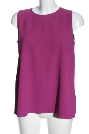 Uniqlo ärmellose Bluse pink Elegant
