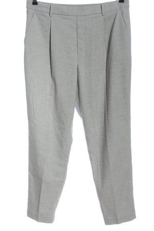 Uniqlo Spodnie garniturowe jasnoszary W stylu biznesowym