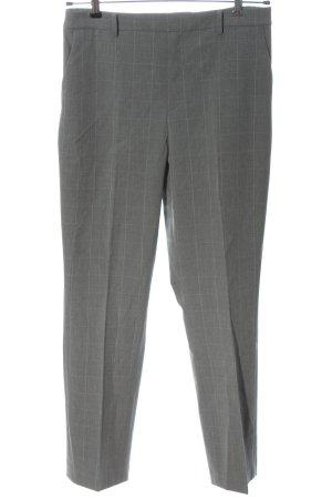 Uniqlo Pantalon de costume gris clair motif à carreaux style d'affaires
