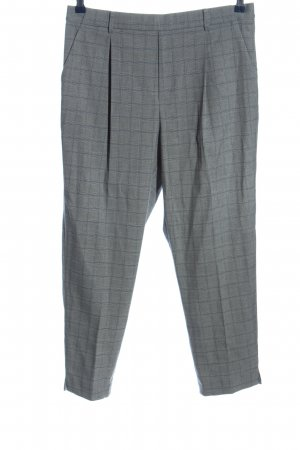 Uniqlo Baggy Pants light grey allover print casual look