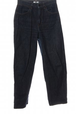 Uniqlo Baggy Jeans blue casual look