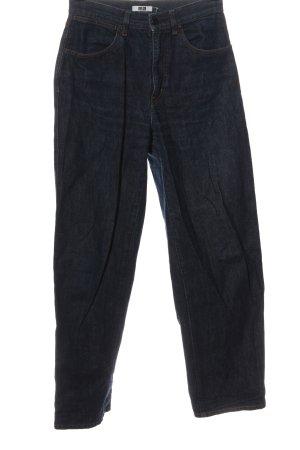 Uniqlo Jeans larghi blu stile casual