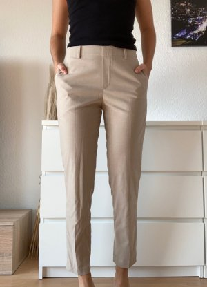 Uniqlo Pantalon chinos beige clair-beige polyester