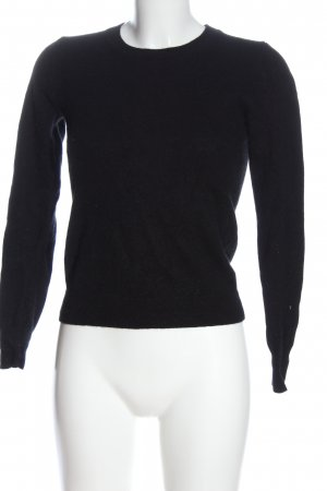 Uniqlo Cashmere Jumper black elegant