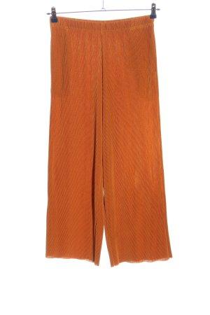 Uniqlo Culottes licht Oranje casual uitstraling