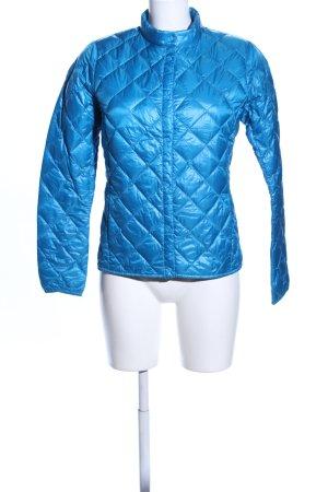 Uniqlo Daunenjacke blau Steppmuster Casual-Look