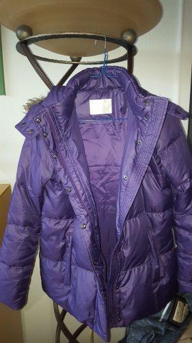 Uniqlo Daunenjacke Fell lila / violett GrS (M) *wie neu*