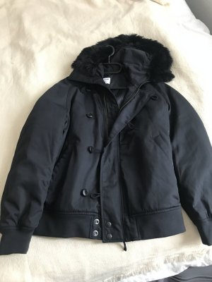 Uniqlo Down Jacket with Fur Hood