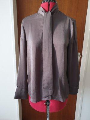 Uniqlo Blouse avec noeuds gris