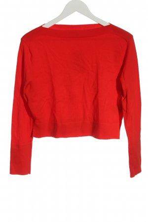 Uniqlo Feinstrickpullover rot Casual-Look