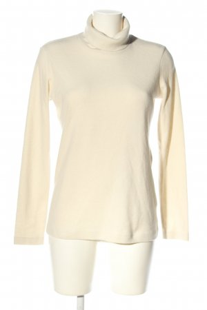 Uniqlo Fleece Jumper natural white casual look