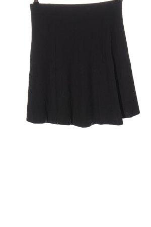 Uniqlo Flared Skirt black casual look